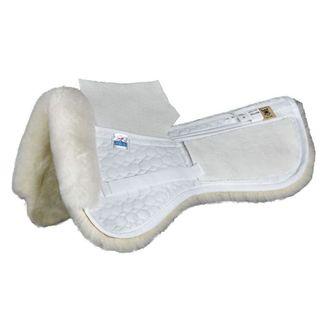 Mattes Gold Wool Correction Dressage Half Pad