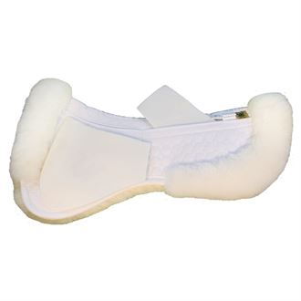 Mattes Gold Wool Correction Half pad with rear trim