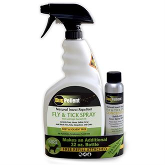BugPellent® Natural Fly & Tick Spray Set