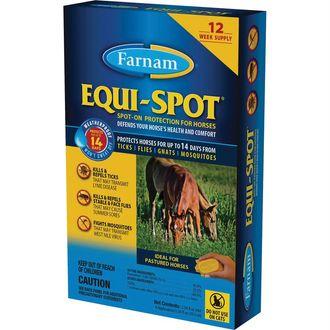 Farnam® Equi-Spot® Spot-On Fly Control - 12 week
