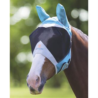 Shires Fine Mesh Fly Mask (Ears)