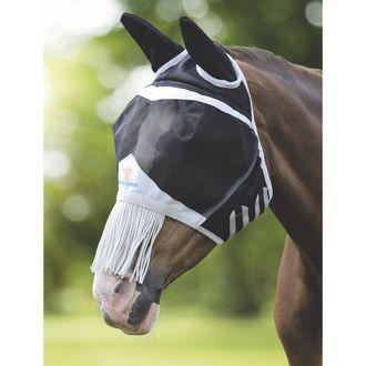 Shires Fine Mesh Fly Mask (Ears & Nose Fringe)