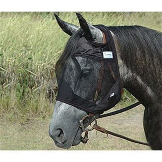 Quiet Ride™ Fly Mask Standard No Ears