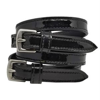 Waldhausen Patent Leather Spur Straps