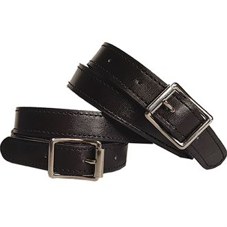 Petrie Brown Leather Spur Straps