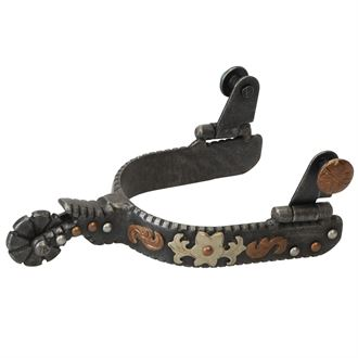 Weaver Leather® Ladies' Western Spurs with Floral Design