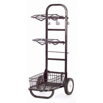Rolling Saddle & Tack Cart
