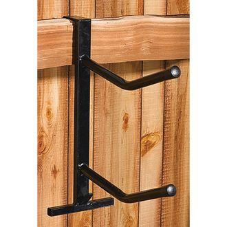 Dover Saddlery® PVC-Coated Double Saddle Rack