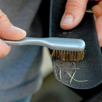 Hook-and-Loop Brush