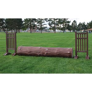 Two-Piece Log Obstacle Set