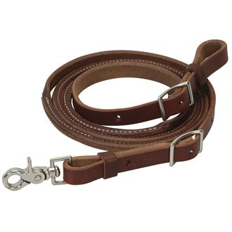 Weaver Leather<sup>® </sup> Oiled Canyon Rose Heavy Harness Leather Round Roper Rein