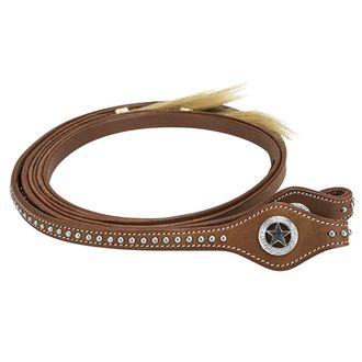 TuffRider® Western Split Reins with Horsehair Tassel