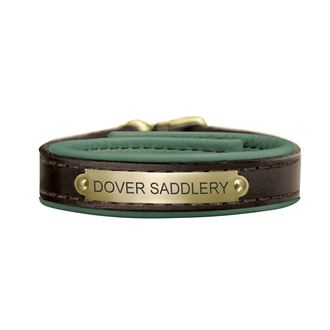 Perri's® Padded Leather Nameplate Bracelet