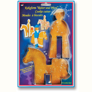 Kelley and Company Horse and Rider Cookie Cutter