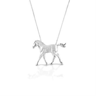 Kelly Herd Trotting Colt Necklace