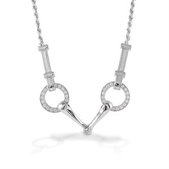 Kelly Herd Snaffle Bit Necklace