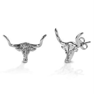 Kelly Herd Small Longhorn Post Back Earrings