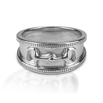 Kelly Herd Wide Band D-Bit Ring