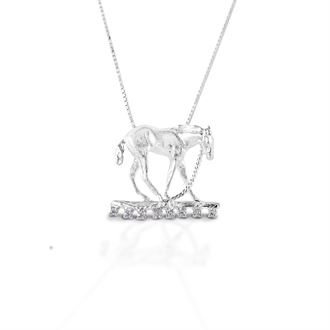 Kelly Herd Foal & Halter Pendant Necklace