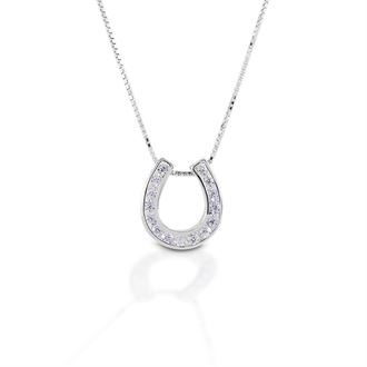 Kelly Herd Single Horseshoe Necklace