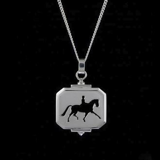 Extended Trot Cutout Pendant
