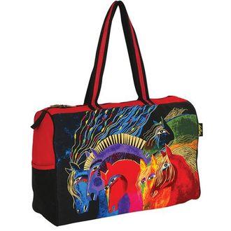 Laurel Burch Wild Horses of Fire Travel Bag