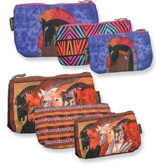 Laurel Burch Cosmetic Bags Set of 3