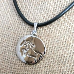 Horse At Play Necklace
