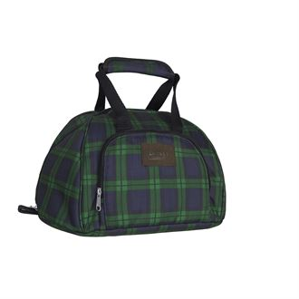 Dover Saddlery® Plaid Helmet Bag