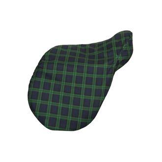 Dover Saddlery® Plaid Showerproof Fleece-Lined Saddle Cover