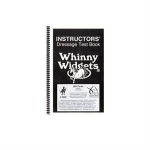 Whinny Widgets Instructors 2019 Dressage Test Book