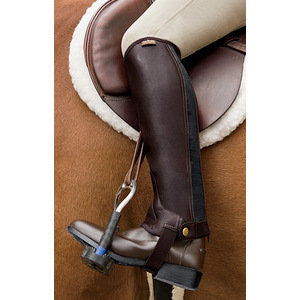 Saxon Equileather™ Childrens Half Chaps