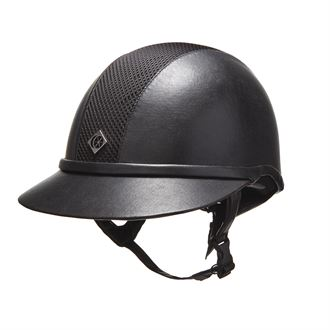 Charles Owen SP8 Leather Look Helmet**