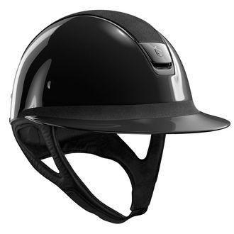 Samshield® Miss Glossy with Alcantara Top Helmet**