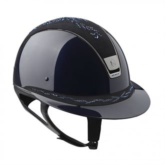 Samshield® Miss Glossy with Leather Flower Top Helmet
