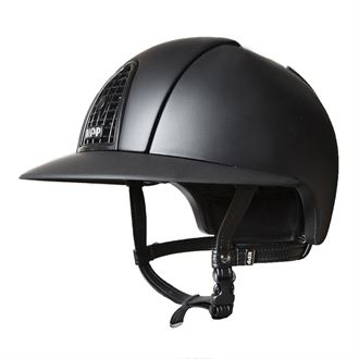 KEP Italia® Cromo Matt Black Helmet ** with Black Raw Grid & Black Polo Visor