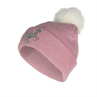 Horze Kids' Terry Reflective Knitted Hat