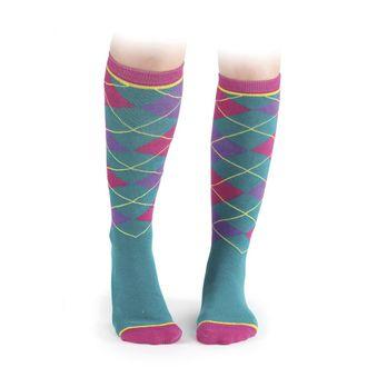 Shires Ladies' Argyle Socks