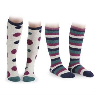 Shires Ladies'Fluffy Socks Two-Pack