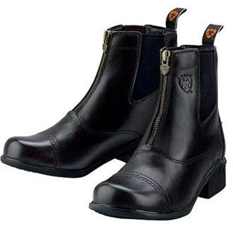 Ladies Ariat® Heritage III RT Zip Paddock Boot BLACK