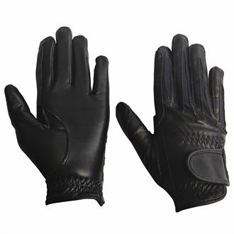 TuffRider® Children's Leather Summer Riding Gloves