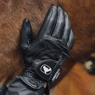 Finntack Elite Paris Leather Gloves