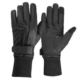 Horze Polyurethane Fleece-Lined Riding Gloves