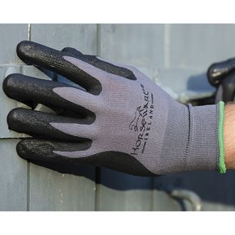 Horseware® Adults' Smooth Grip Coated Gloves (Two-Pack)