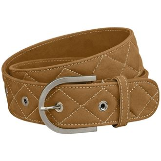 "THE TAILORED SPORTSMAN™ ""Quilted"" Clarino™ Belt"