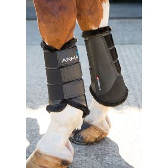 ARMA Fur-Lined Brushing Boots