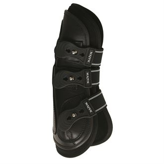 Majyk Equipe® Leather Jump Boots with Removable Impact Liners (Snap Closure)