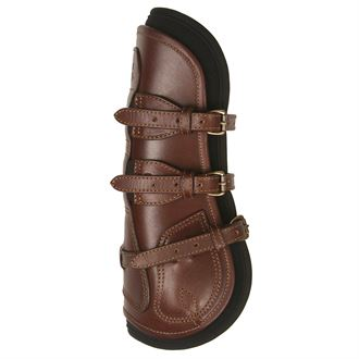 Majyk Equipe® Leather Jump Boots with Removable ImpactLiners (Buckle Closure) - M/L