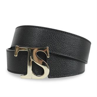 THE TAILORED SPORTSMAN™Ladies' Sporty TS Gold Buckle Belt