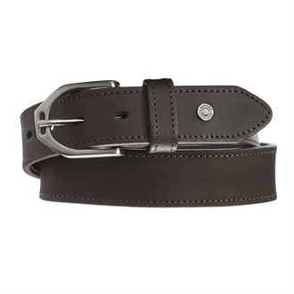 Dover Saddlery® Ladies Stirrup Buckle Topstitch Belt